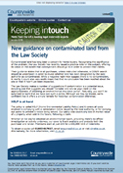 New guidance on contaminated land