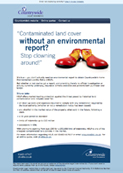 Contaminated land with no environmental report